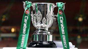 carabao cup first-round draw made