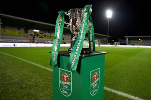 burton albion away at port vale in carabao cup first round