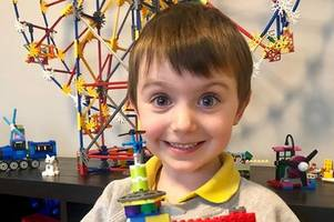 meet the four-year-old inventor who's used lego to rebuild notre dame - and wants emmanuel macron to pick his design