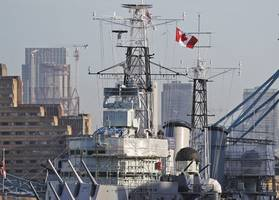 canadian frigate crosses taiwan strait amid china tensions