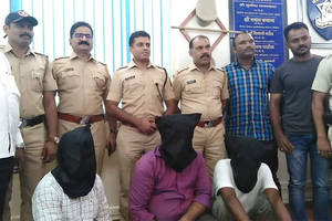 three farmers held smuggling pangolin scales worth rs 22 lakh in thane