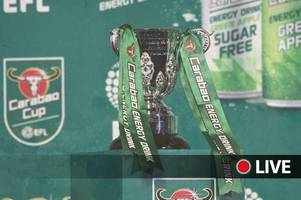 carabao cup 1st round draw live as swansea city, newport county, leeds united, derby and others await fate