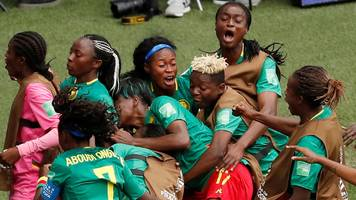 cameroon score injury-time winner against new zealand to reach last 16