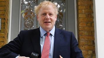 boris johnson: police 'called to tory leadership contender's home'