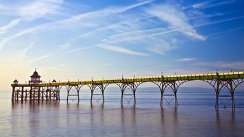 clevedon pier: the 150-year-old 'soul' of a seaside town