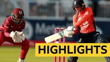 Highlights: Danni Wyatt's 81 seals victory for England over West Indies