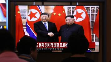 Chinese President Xi Makes Historic State Visit To North Korea