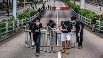 thousands of protesters return to hong kong streets