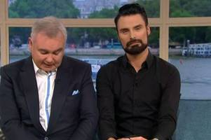 eamonn holmes sobs after ruth langsford's sister dies in heartbreaking this morning tribute
