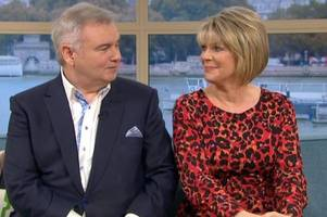 eamonn holmes gives heartbreaking speech to this morning viewers after wife ruth langsford cancels tv appearances following devastating news