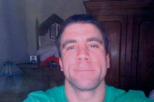 the unsolved murder of croydon builder mark corcoran who was stabbed to death on valentine's day