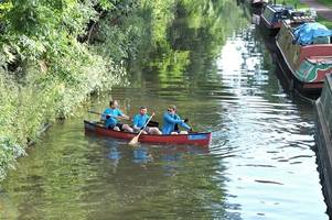 trio commute 20 miles on river to work in bath on clean air day