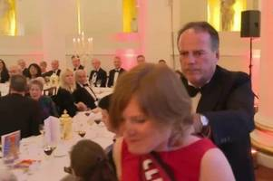 tory mark field suspended as minister after grabbing female activist at black tie event