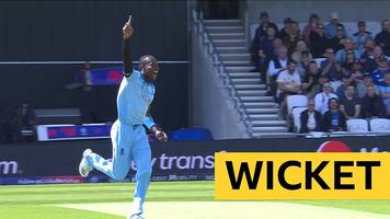 cricket world cup: england's jofra archer and chris woakes take early wickets v sri lanka