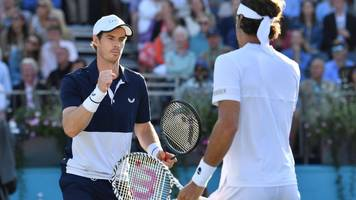 queen's: andy murray into semi-finals of doubles