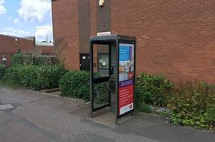 this abbey street phone box was used to buy drugs from dealer
