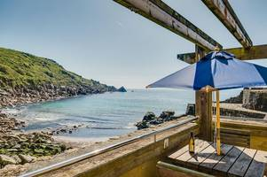 lamorna cove café for sale with holiday apartments and more