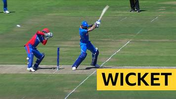 cricket world cup: india's virat kohli falls for 67 v afghanistan