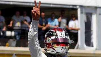 Lewis Hamilton on French Grand Prix pole