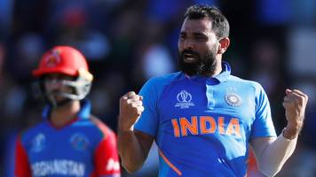 mohammed shami's hat-trick helps india over line against afghanistan