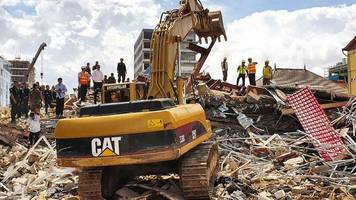seven-storey building collapses in cambodia