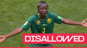 women's world cup 2019: cameroon have goal ruled out by var for offside