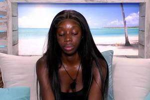 love island's yewande calls danny a 'd**khead' and says she is quitting show