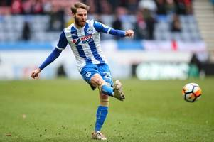 championship gossip: stoke city close in on former manchester united star; derby county face competition for £600k midfielder; wigan athletic bid for everton full-back