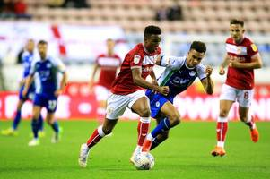 What Everton full-back linked with Bristol City, Wigan Athletic and Brentford has said about his future