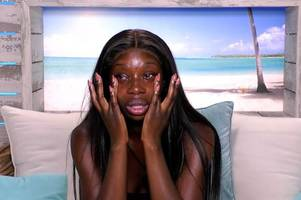 yewande says she's quitting love island after massive row with partner danny
