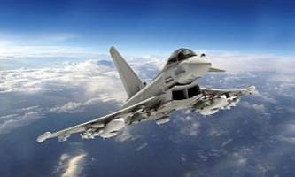 Two German Eurofighter Jets Crash after Mid-Air Collision Over Germany