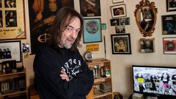 Black Sabbath super fan's living room rebuilt in museum
