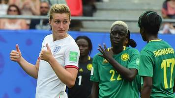 women's world cup: england keep cool against cameroon with norway next