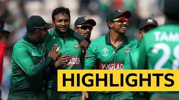 cricket world cup: bangladesh beat afghanistan - highlights