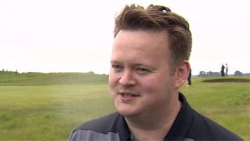 former world champion murphy plays in qualifier for golf's open