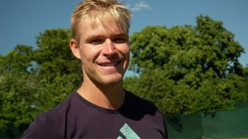 wimbledon: evan hoyt knocked out of first qualifying round