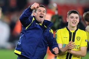 nigel clough targeting more burton albion cup 'glory' after manchester city ties