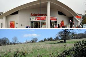 this is when people can have their say on plans for big new housing estate near sainsbury's