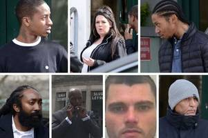 Eight people accused of trafficking drugs to Plymouth go on trial