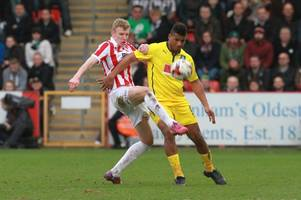 former plymouth argyle, west brom and rotherham united striker reuben reid on his move from forest green rovers to cheltenham town
