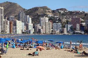 Seven people stung by deadly jellyfish-like creatures on Benidorm beaches
