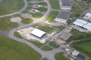the new £3.3m police helicopter base which hasn't provided a single flight to help officers in north east lincolnshire