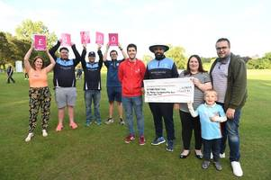 cricket club raises £2k in tribute to one-year-old who lost brave cancer battle