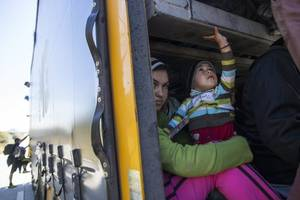 border officials had to be forced into hospitalizing four sick toddlers — including a girl ...