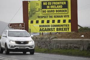 high-tech systems will not stop hard irish border after brexit, warns former shadow secretary owen smith
