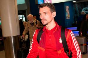 craig bryson completes aberdeen move as derby hand dons europa league boost