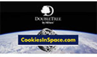 cookies in space: doubletree chocolate chip cookie to be first food baked in space, sending hilton hospitality into orbit