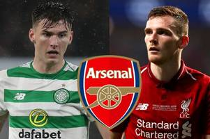 liverpool star tells celtic ace kieran tierney exactly what the arsenal fans want to hear