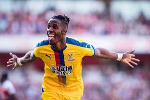 'never going to happen!' these arsenal fans have typical response to wilfried zaha transfer talk