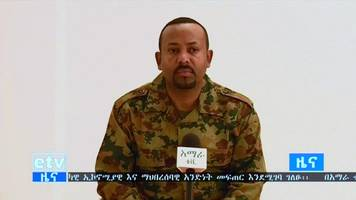 ethiopia amhara 'coup ringleader on the run'